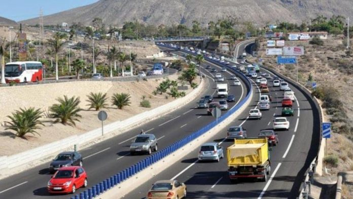 200 EUR bauda vaziuojantiems netinkama tos pacios krypties eismo juosta Ispanijos keliuose tf-1