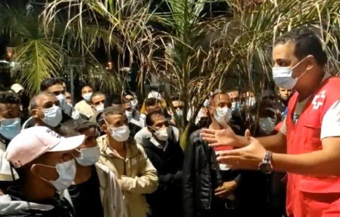 Tenerifeje uzstrigo 100 imigrantu perkeltu is Gran Kanarijos