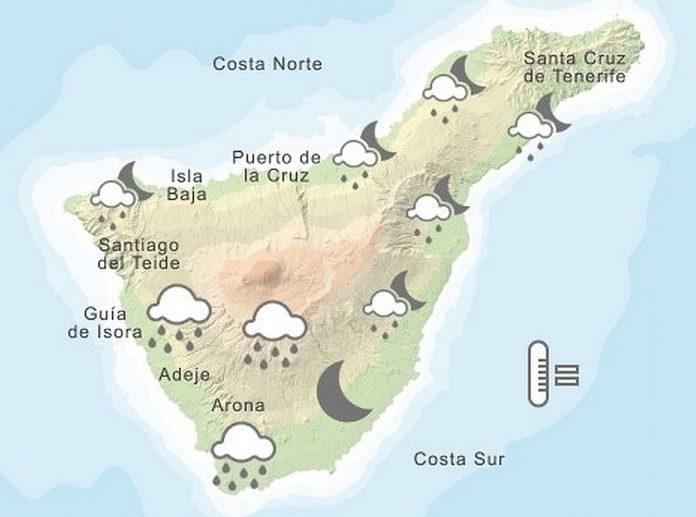 Ispejimas: siandien siaurineje Kanaru salu dalyje laukiama audra