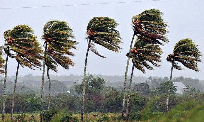 Del rimstancio vejo Kanaru salose atsaukiamas geltonas oro pavojus