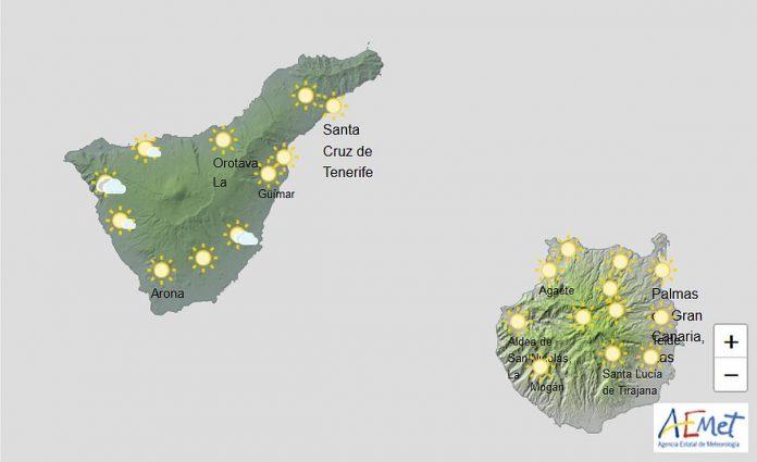 Siandien Kanaru salose karsta ir dregna
