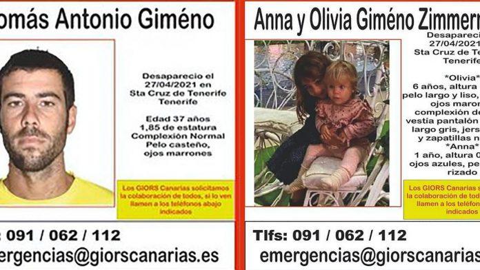 Annos ir Olivijos paieskos - 14 diena: liudininke teigia maciusi mergaites Cadiz regione