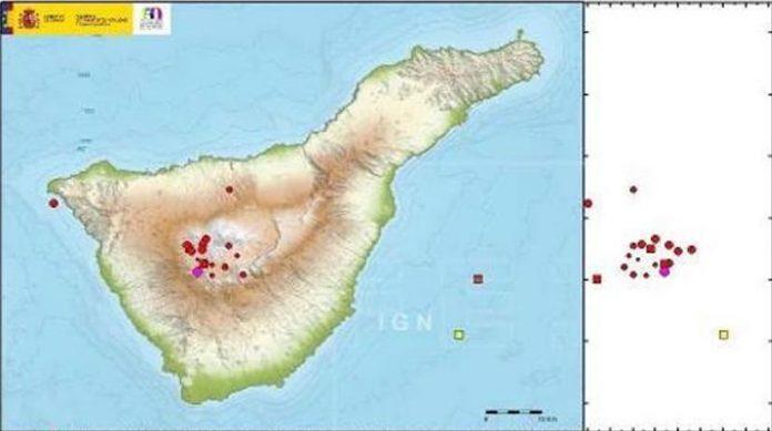Nacionalinis geografijos institutas (IGN) Las Cañadas del Teidė regione užfiksavo apie 30 nedidelių žemės drebėjimų. Drebėjimai vyko nuo pirmadinio 21:01 val. iki antradienio ryto 4:32 val. 14 iš jų buvo užfiksuoti į pietvakarius nuo Pico Viejo ir į šiaurės rytus nuo Guía de Isora regionų. Savo oficialiame pranešime spaudai IGN paskelbė, kad drebėjimų stiprumas pagal Richterio skalę siekė nuo 0.6 iki 1.9 balo. Visi drebėjimai užfiksuoti 8-23 kilometrų gylyje. IGN atkreipia dėmesį į tai, kad šis seisminis aktyvumas yra vietovėje, kurioje reguliariai aptinkama daugybė mikroseisminių reiškinių. Jie nekelia jokio pavojaus gyventojams bei atitinka įprastus parametrus aktyviose vulkaninėse zonose, pavyzdžiui, Tenerifėje. Birželio mėnesį Kanarų salose užfiksuoti 182 žemės drebėjimai. Stipriausias žemės drebėjimas, įvykęs birželio 12-ąją, 19:10 val. siekė 3.3 balo pagal Richterio skalę. Epicentras užfiksuotas 10 kilometrų gylyje už 150 km į šiaurės vakarus nuo Lanzarote salos. Birželio 28-ąją, 1:16 val. į vakarus nuo Fuerteventuros salos, 35 km nuo kranto, įvyko 2.4 balo stiprumo ir 4 kilometrų gylio žemės drebėjimas. II stiprumo (EMS98) drebėjimas buvo jaučiamas Pajara mieste. Seisminis aktyvumas tęsėsi tarp Gran Kanarijos ir Tenerifės. Jo metu įvyko 57 lokalūs žemės drebėjimai. Jų gylis siekė nuo 1 iki 35 kilometrų, o stiprumas - nuo 0.3 iki 2.1 mbLg. Seisminis aktyvumas Tenerifės salos gilumoje tęsėsi daugiausia netoli Icod de los Vinos, Vilaflor, Teide-Pico Viejo ir Guía de Isora esančių vietovių. Iš viso įvyko 40 žemės drebėjimų, kurių stiprumas siekė 0.1 – 1.6 mbLg. Gylis - nuo 1 iki 28 kilometrų. Kanarų salų vulkanų stebėjimo tinklo nuolatinėmis GNSS stotimis apdoroti duomenys nerodo jokių reikšmingų deformacijų, kurios galėtų būti susijusios su vulkanine veikla.